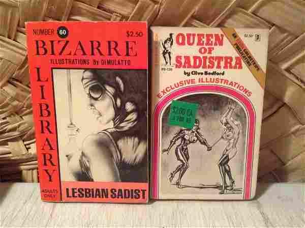 1970s Illustrated Adult Bondage Books