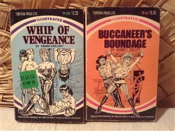 1972 Tortura Press Illustrated Adult Bondage Books