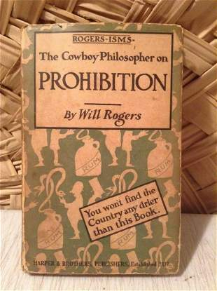 1919 First Edition with Dust Jacket The Cowboy