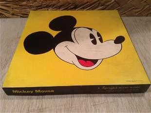 Vintage Springbok Mickey Mouse Puzzle