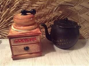 "Two McCoy Cookie Jars tallest 11.5"""