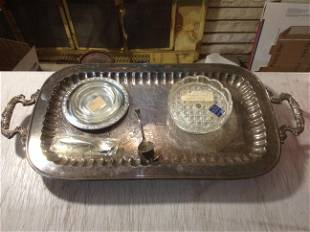 Vintage Dog Show Crystal Dishes and Raimond Hand Made