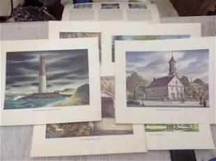 6 1664-1964 New Jersey Tercentenary Prints