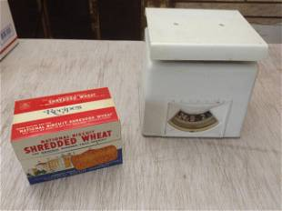 Detecto Scale and National Biscuit Company Shredded