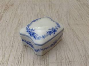 """Limoges France Chamart trinket box 2.5"""""""