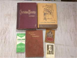 1901 Mariner's Medical Companion and other vintage