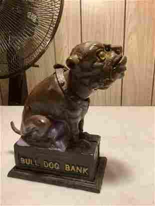 vintage mechanical bank