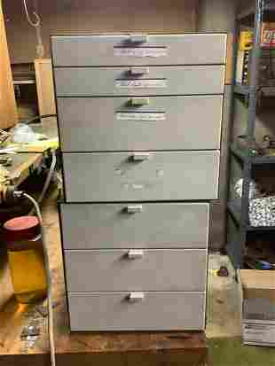 2 sets of drawers no contents 24x24x12 RCA Victor