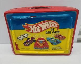 Vintage Hot Wheels Vinyl Case