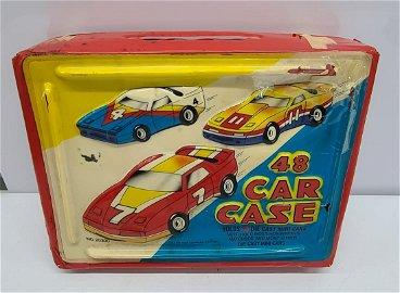 Vintage Toy Car Vinyl Case Red