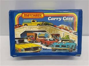 Vintage Matchbox Cars Carry Case