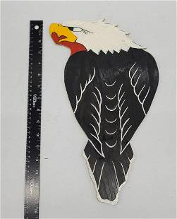 Classic Tattoo Art Wood Eagle