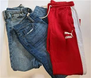 Ladies sz 4 topshop asos jeans Puma Track Pants