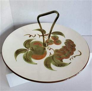 1960s Stangl Pottery Serving Tray