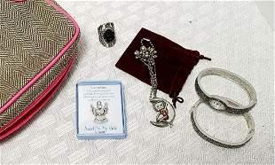 Costume Jewelry Inc Betty Boop & Makeup Bag