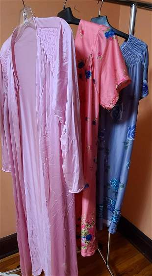 Vintage Robe and Nightgowns
