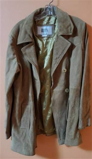 Vintage Brian's Leather Suede Jacket L