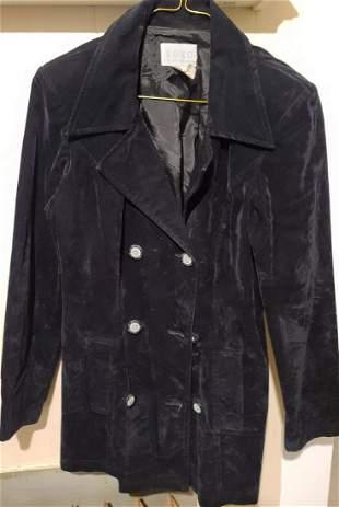 90s XOXO Fitted Crushed Velvet Jacket S