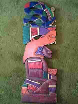 Wooden Tribal Decorative Art