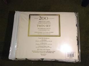Single Ply Yarn Basics Collection Twin Set 3 Piece
