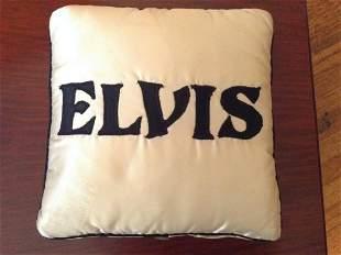 Silk Elvis Pillow