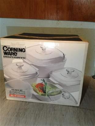 Corning Ware 10 piece set