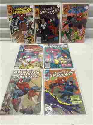 Lot of Spiderman comics