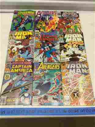 Iron Man, Avengers, Captain America and other comics