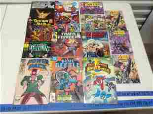 Large lot of Comics - Transformers, Power Rangers and