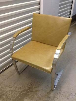 Knoll Brno Flat Bar Chair Designed by Ludwig Mies van