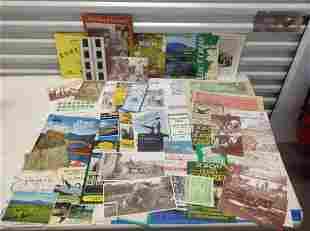 Large lot of Ireland Postcards, Travel Brochures,