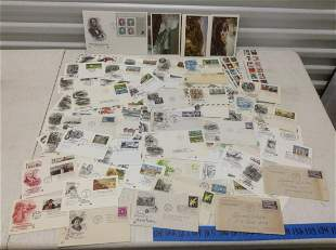 Huge Lot of First Day Covers and postcards
