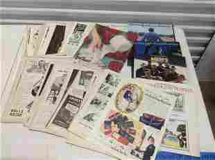 Large lot of 1940s ads and other magazines