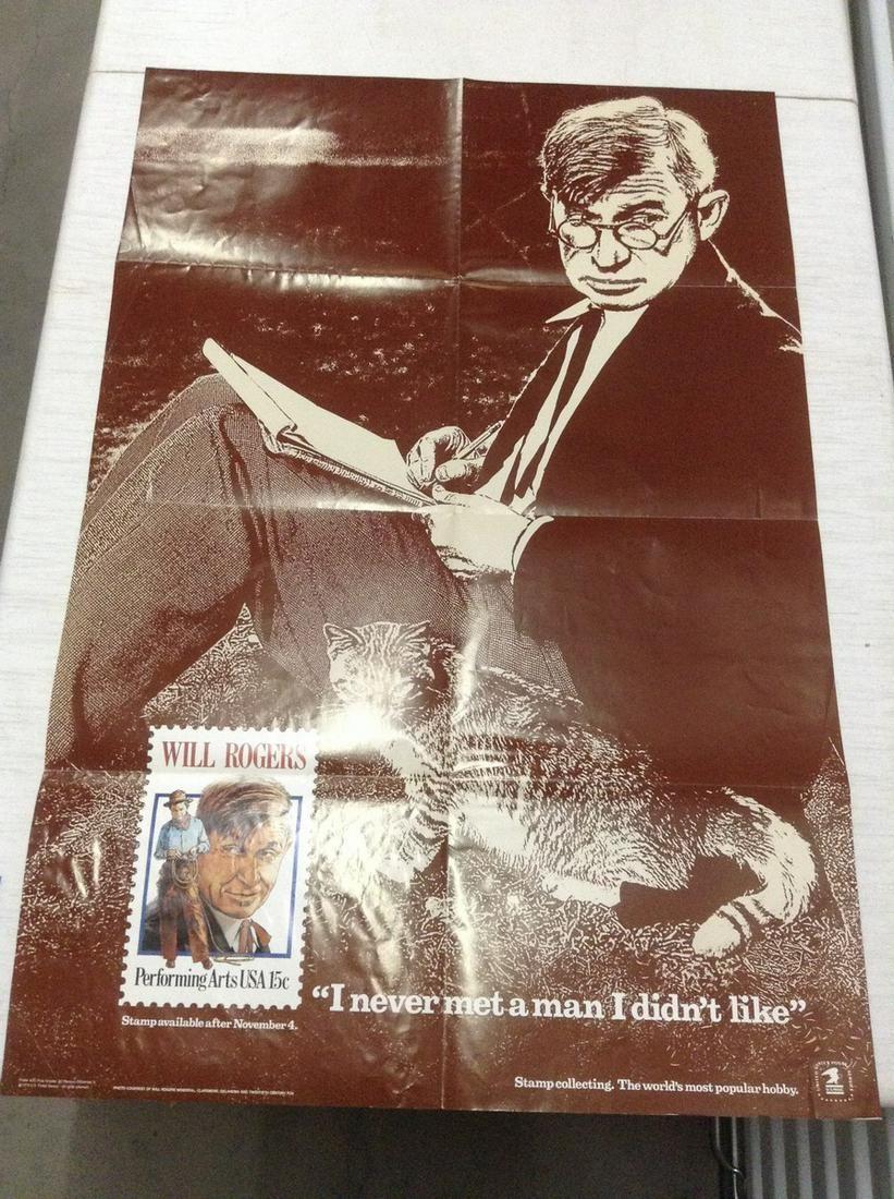 "1979 US Postal Service Poster 36""x24"""