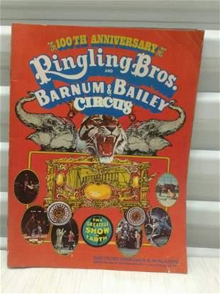 1971 Ringling Bros and Barnum and Bailey Circus Program