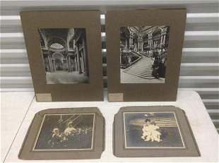"""Early French Architecture Prints 18""""x16"""" and early"""