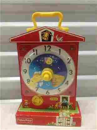 Fisher Price Music Box Clock