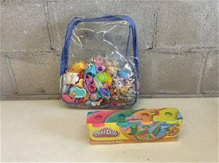 Lot of Littlest Pet Shop and Play-Doh