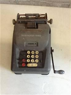 Remington Rand vintage adding machine