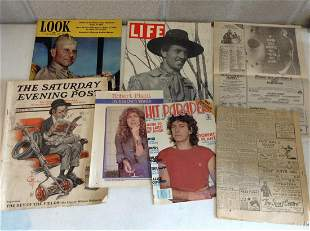 Gary Cooper 1940 Life Magazine, The Saturday Evening