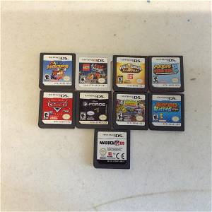 Lot of Nintendo DS games and 3DS game