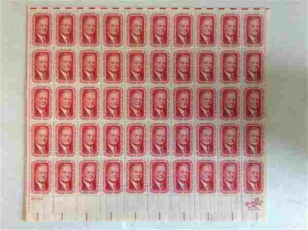 Lot of Herbert Hoover U.S. Stamps