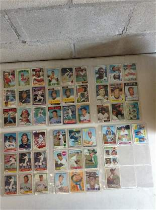 Lot of vintage baseball cards 1050s-1970s