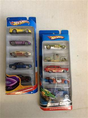 Hot Wheels American Performance and Creature Cars
