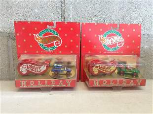 Hot Wheels Holiday 1996 Special Edition Collector Case