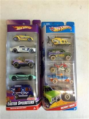 Hot Wheels Easter Speedsters and Desert Race