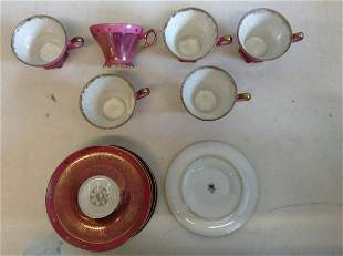 Lot of Hand Painted Lefton China Set