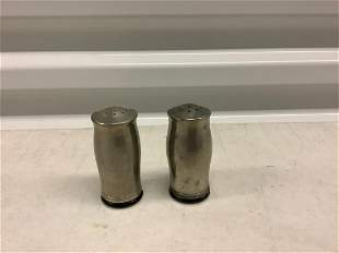 """sterling silver salt and pepper shakers 3"""""""