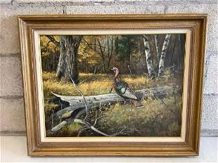 Kenneth Smallwood signed original framed oil on canvas