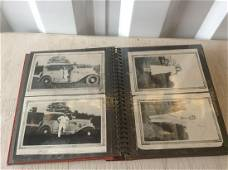 Large Photo Book Filled with Black and White Photos